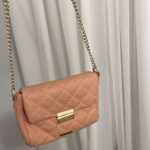 Dusty rose purse